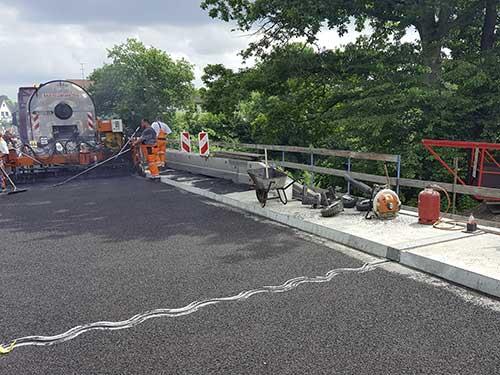 Straßenbau - Instandsetzung Brücke i. Z. der L 257 über den Elbe-Lübeck-Kanal in Mölln