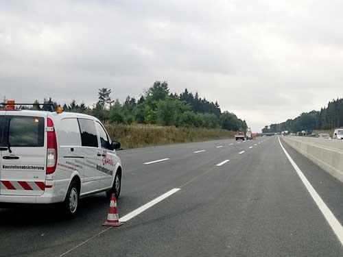 Fahrbahnmarkierungsarbeiten BAB A 7, AD Salzgitter - südl. AS Bockenem